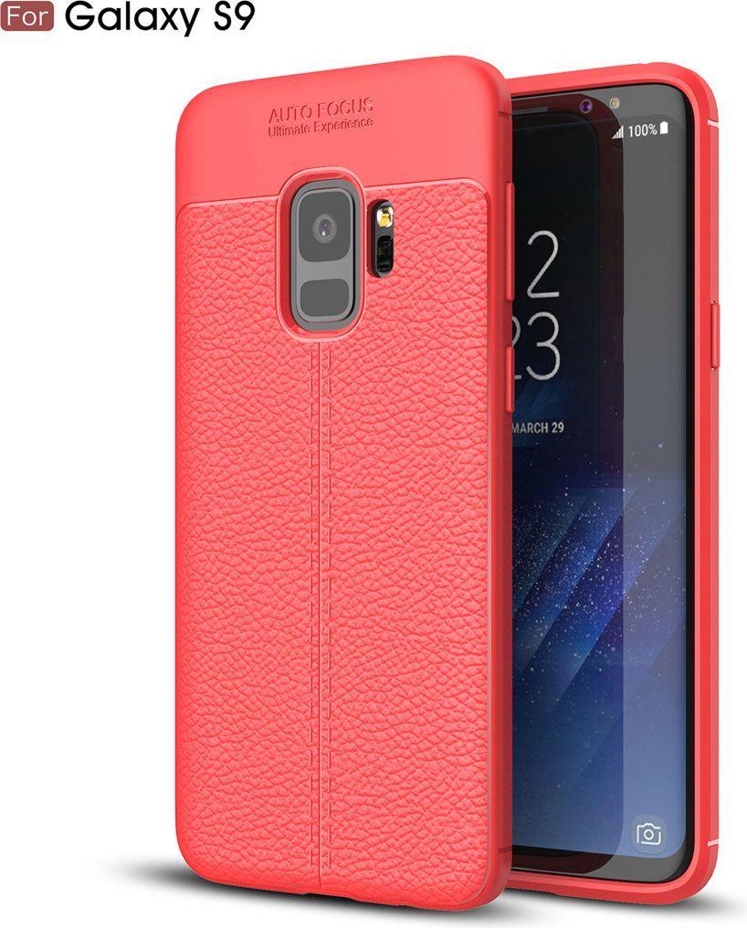 nemo Etui Skin Lux SAMSUNG S9+ czerwone 1