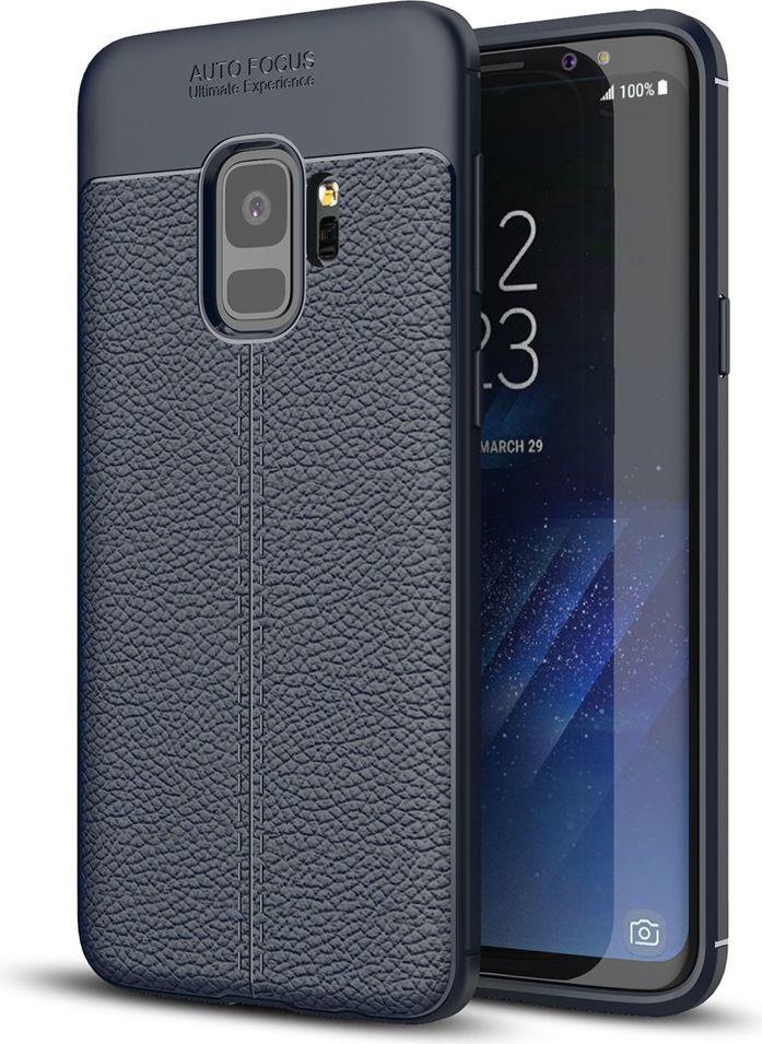 nemo Etui Skin Lux SAMSUNG S9+ granatowe 1