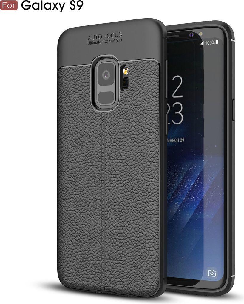 nemo Etui Skin Lux SAMSUNG S9 czarne 1