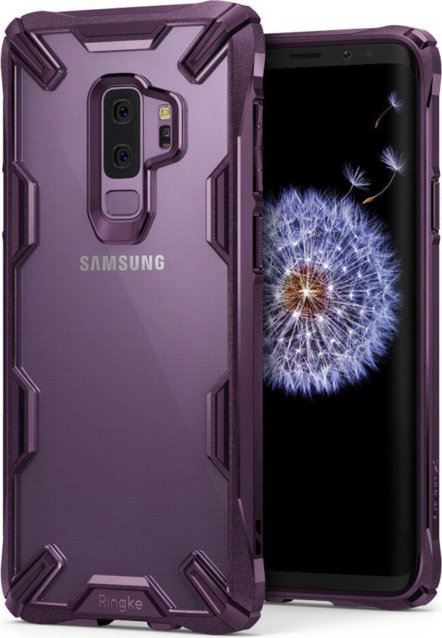 Ringke Ringke Fusion X etui pancerny pokrowiec z ramką Samsung Galaxy S9 Plus G965 fioletowy (FUSG0002-RPKG) 1