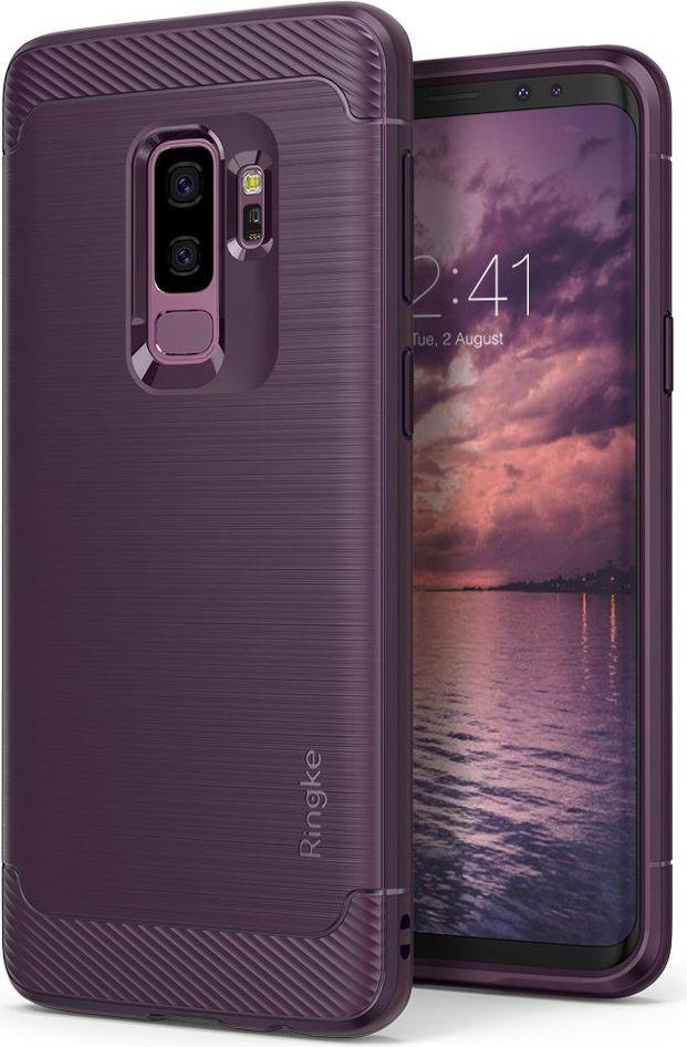 Ringke Ringke Onyx wytrzymałe etui pokrowiec Samsung Galaxy S9 Plus G965 fioletowy (OXSG0011-RPKG) 1