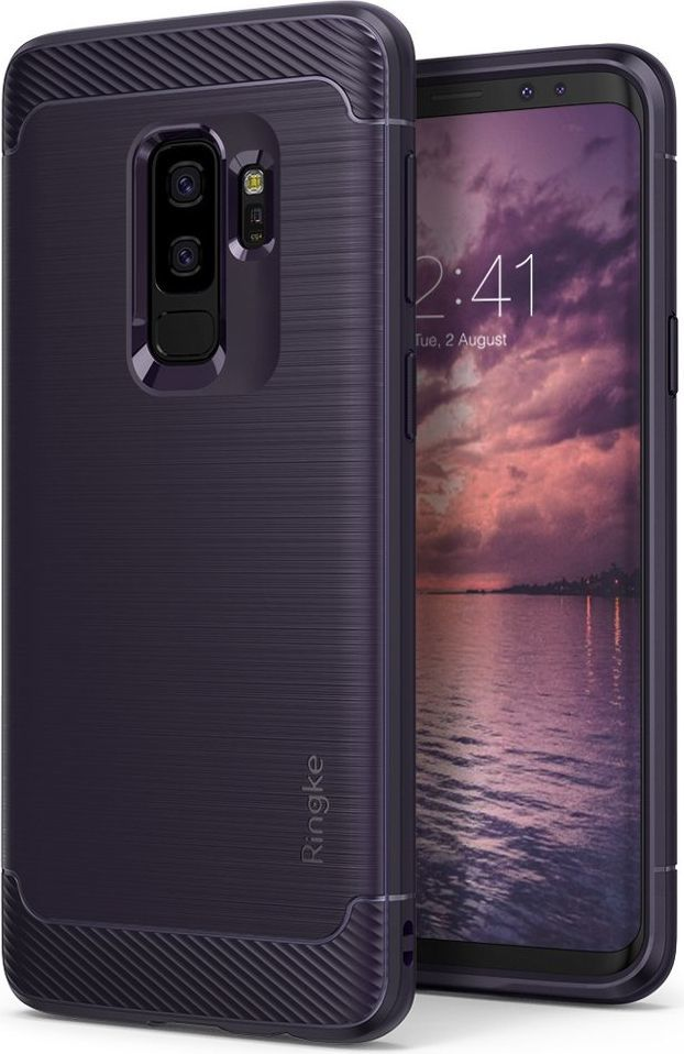 Ringke Ringke Onyx wytrzymałe etui pokrowiec Samsung Galaxy S9 Plus G965 ciemnofioletowy (OXSG0009-RPKG) 1