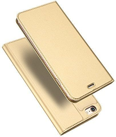 Dux Ducis Skin Pro etui pokrowiec z klapką iPhone SE / 5S / 5 złoty 1