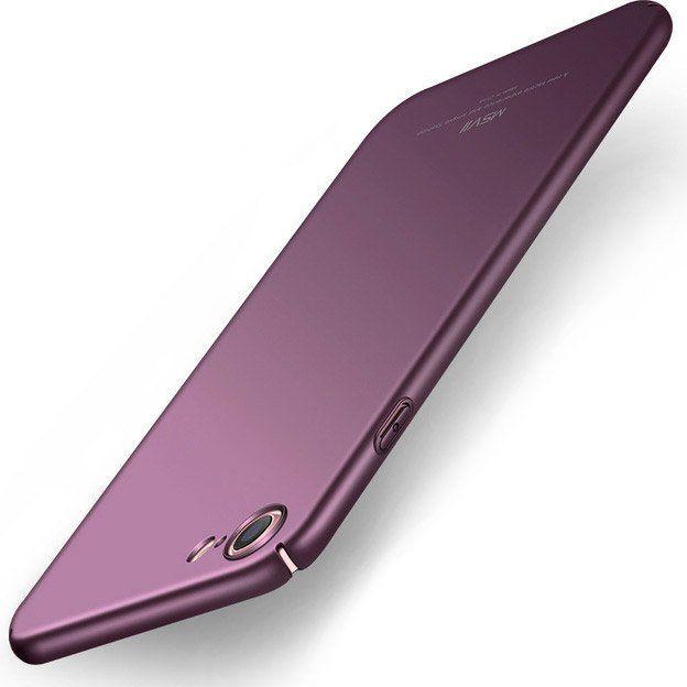 MSVII Etui iPhone 8 MSVII Simple ultracienki pokrowiec fioletowy 1