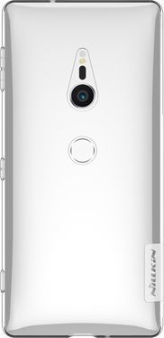 Nillkin Nature żelowe etui pokrowiec ultra slim Sony Xperia XZ2 przezroczysty 1