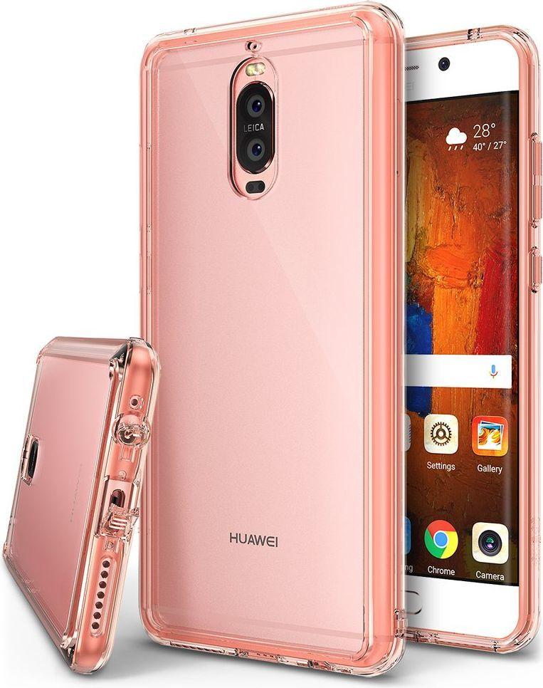 Ringke Etui Huawei Mate 9 Pro Ringke Fusion pokrowiec z żelową ramką różowy 1