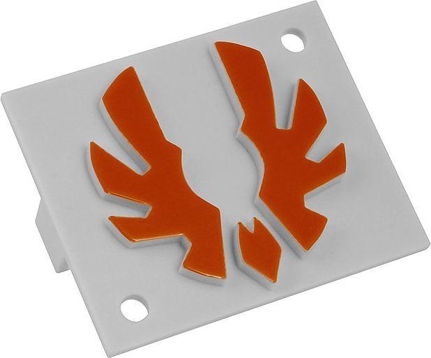 BitFenix Logo dla Shinobi Midi-Tower pomarańczowe (BFC-SNB-150-OLOG-SP) 1