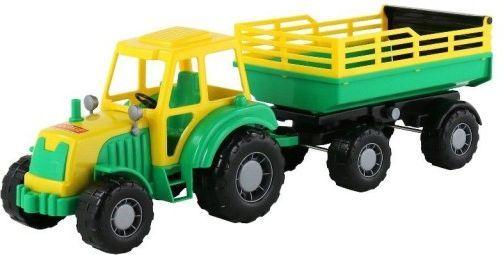Wader Altaj Traktor z przyczepą w siatce 1