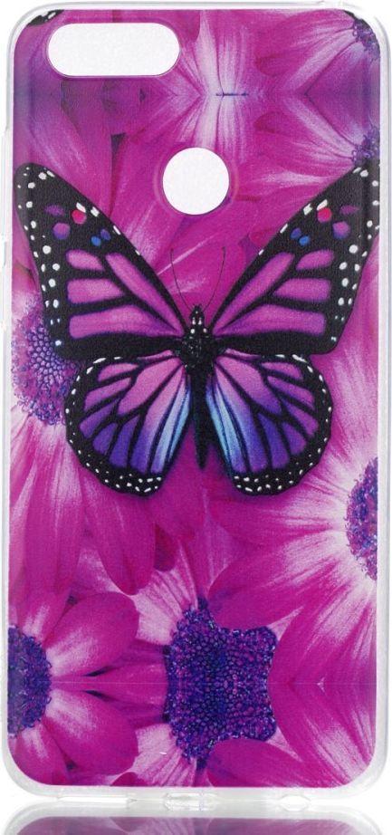 nemo Etui slim case art HUAWEI HONOR 7X sunflower and butterfly 1