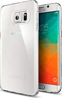 Spigen Nakładka Liquid Crystal do Samsung Galaxy S6 Edge+ przezroczysta 1