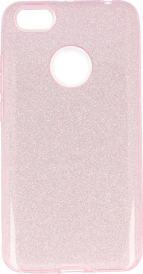 nemo Etui Glitter Redmi Note 5A jasnoróżowe 1