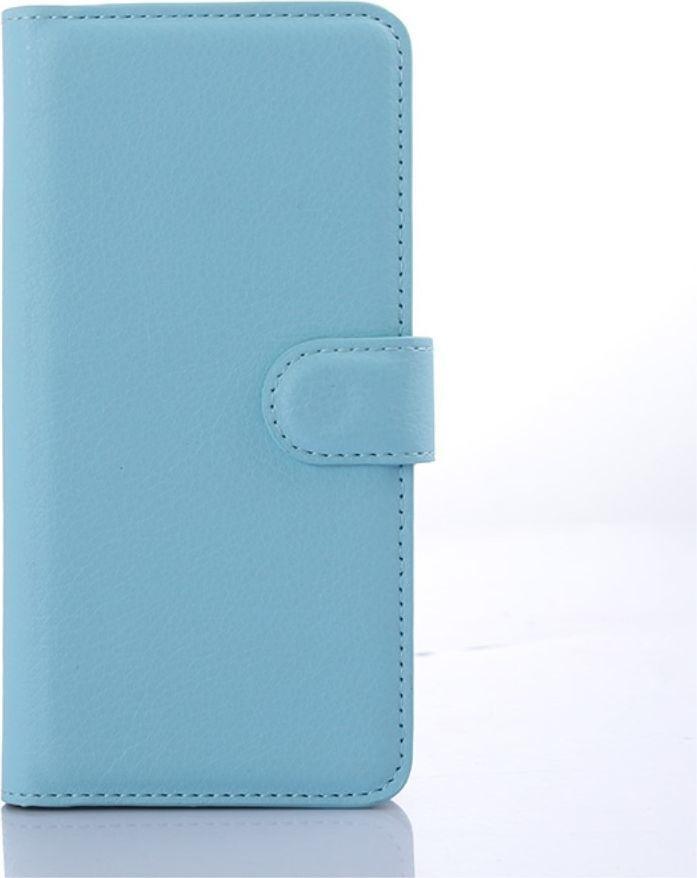 nemo Etui Stand litchi HTC 650 niebieskie 1