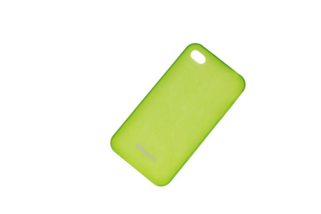 nemo Etui Polaroid soft slim iPhone 4 zielone 1