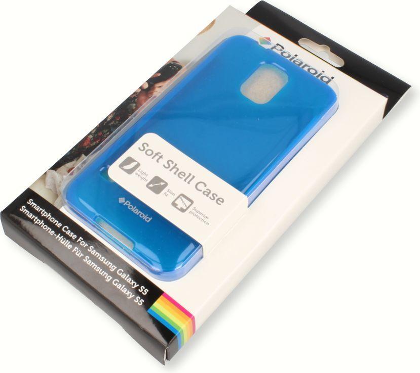 nemo Etui Polaroid soft slim iPhone 4 niebieskie 1