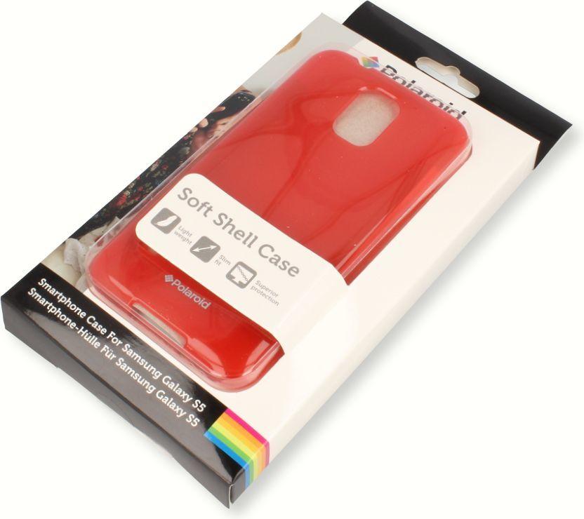 nemo Etui Polaroid soft slim Samsung S5 czerwone 1