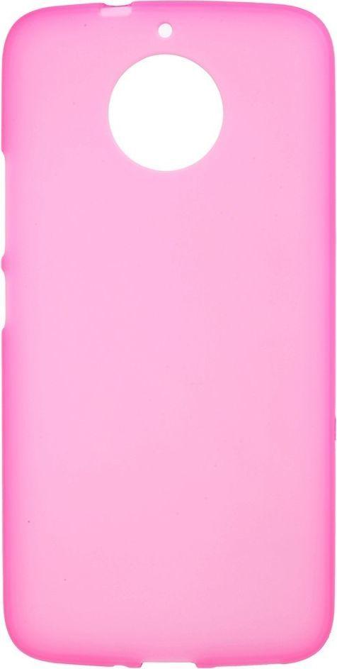 nemo Etui Matte TPU Cover Moto G5S różowe 1