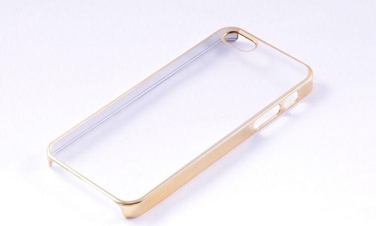 nemo HARD CASE ETUI PREMIUM CLEAR HTC M9 ZŁOTE 1