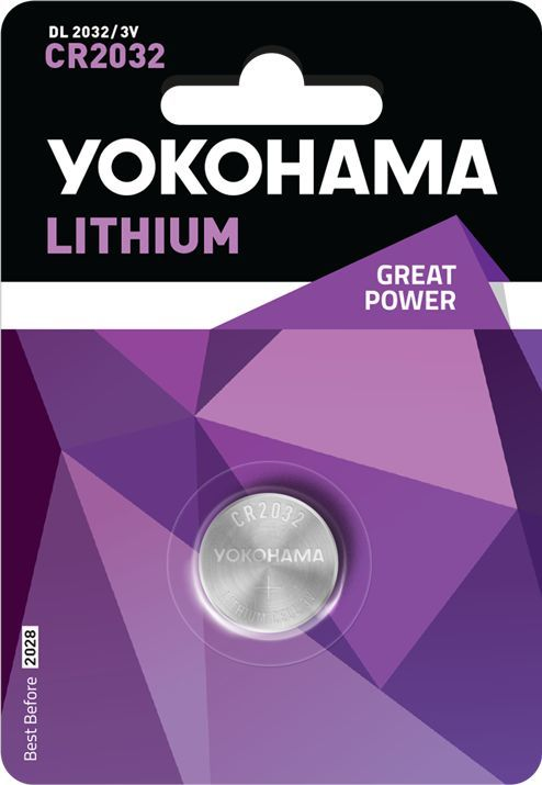 Yokohama Bateria YOKOHAMA lithium CR2032 5 SZT 1