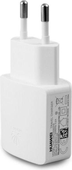 Ładowarka Huawei sieciowa HUAWEI 1A biała (HW-050100E2W) (opak. bulk) 1