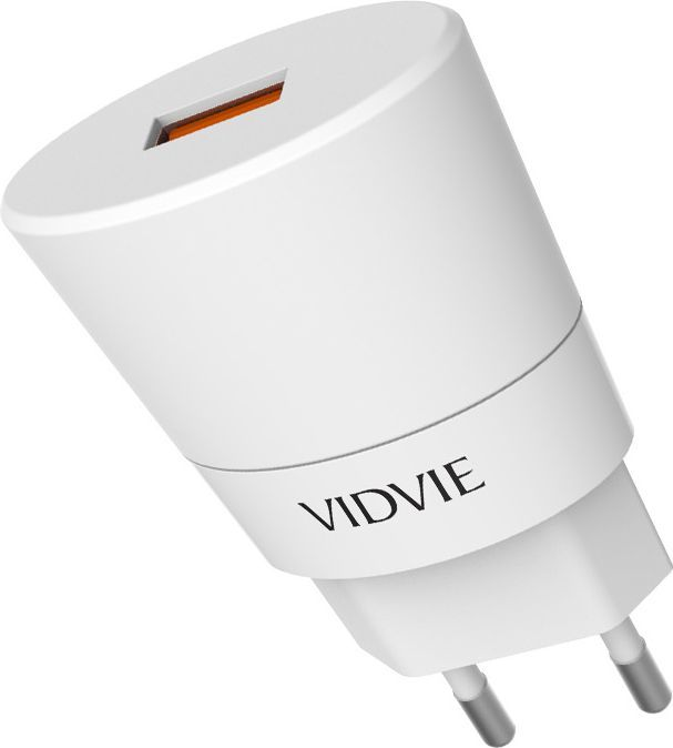Ładowarka Vidvie sieciowa 2,4A QC 2.0 FAST biała (PLE208Q) 1