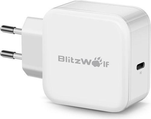Ładowarka Blitzwolf USB typ C kolor biały (BW-S10) 1