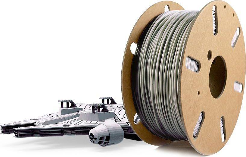 Skriware Filament do drukarek 3D Skriware PLA silver grey 1