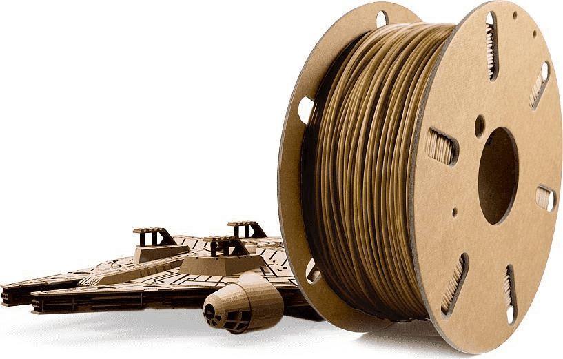 Skriware Filament do drukarek 3D PLA old gold 1