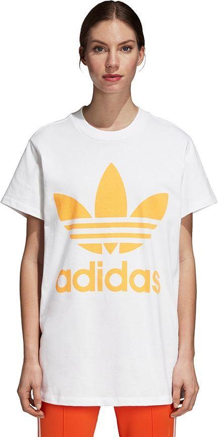 wybór premium ceny odprawy atrakcyjna cena Adidas Koszulka damska Trefoil biała r. 32 (DH3165) w Sklep-presto.pl
