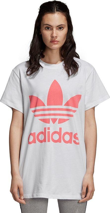 Adidas Koszulka damska Big Trefoil Tee biała r. 38 (DH4429) ID produktu: 4966827