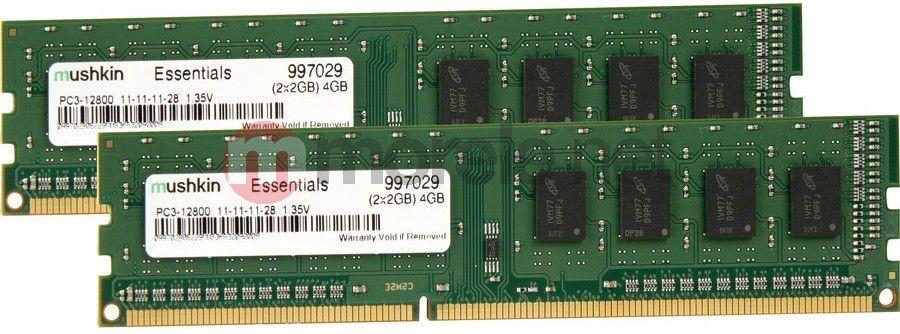 Pamięć Mushkin DDR3, 4 GB, 800MHz, CL11 (997029) 1