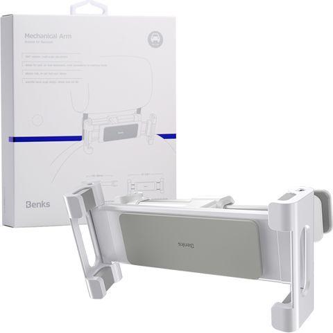 Uchwyt Benks H14 Car Backseat Telefon/Tablet-White 1