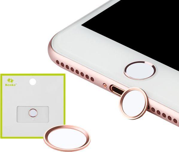 Benks Osłona Benks na przycisk Home w iPhone - Silver 1