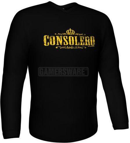 GamersWear Bluza CONSOLERO Longsleeve czarna (XL) ( 5918-XL ) 1