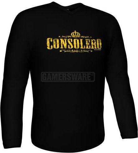 GamersWear Bluza CONSOLERO Longsleeve czarna (XXL) ( 5918-XXL ) 1
