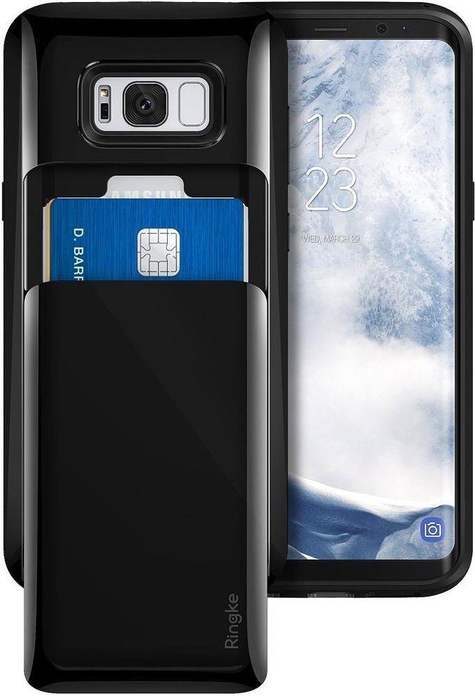 Ringke Etui Ringke Acces Wallet Samsung Galaxy S8 Plus Gloss Black 1