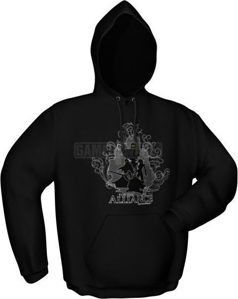GamersWear Bluza FOR THE ALLIANCE czarna (XL) ( 7015-XL ) 1