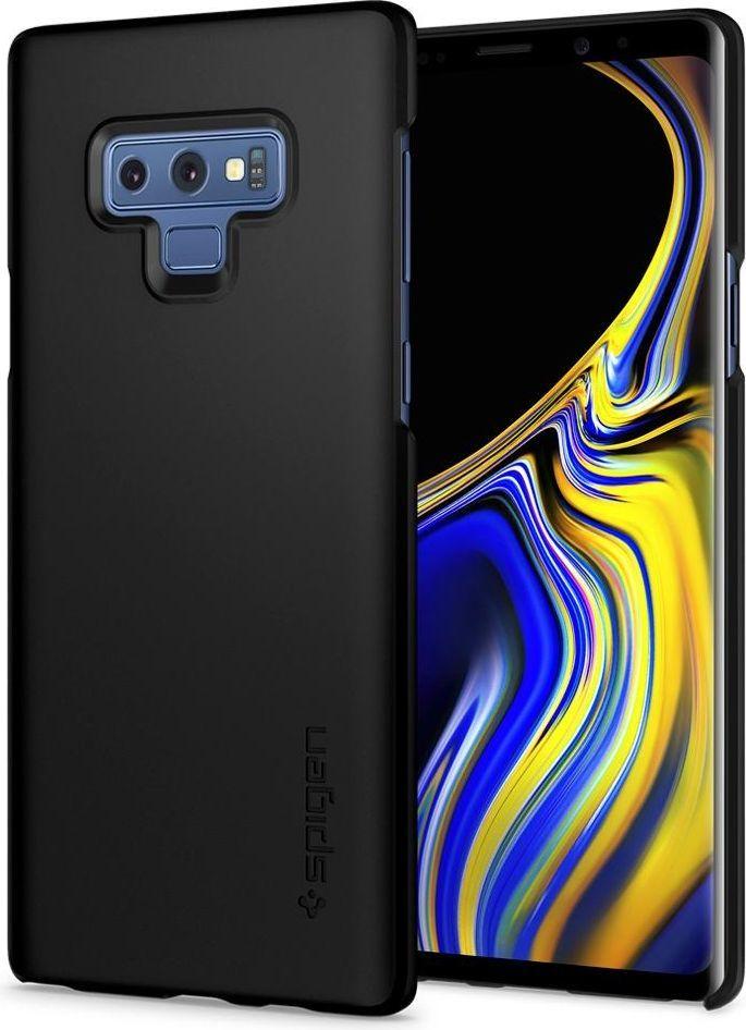 Spigen Etui Spigen Thin Fit Samsung Galaxy Note 9 Black 1