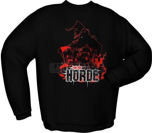 GamersWear Bluza FOR THE HORDE czarna (L) ( 6020-L ) 1