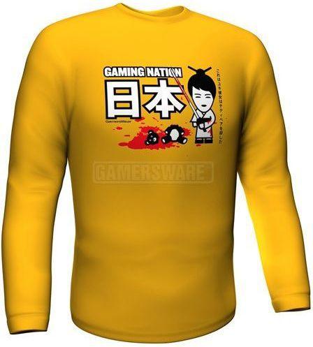 GamersWear Bluza GAMING NATION Longsleeve żółta (XXL) ( 5917-XXL ) 1