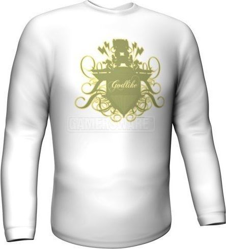 GamersWear Bluza GODLIKE Longsleeve biała (XL) ( 5999-XL ) 1