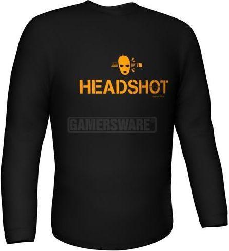 GamersWear Bluza HEADSHOT Longsleeve czarna (S) ( 6067-S ) 1