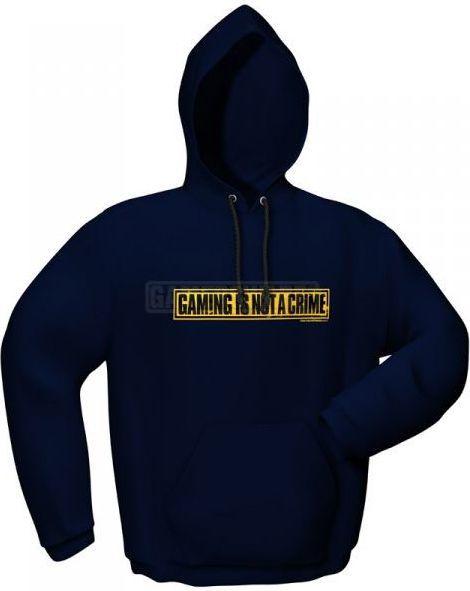 GamersWear NOT A CRIME granatowa (L) ( 5085-L ) 1