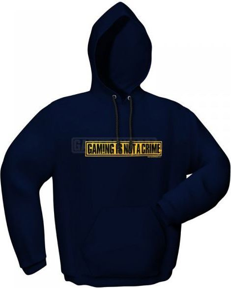 GamersWear NOT A CRIME granatowa (XL) ( 5085-XL ) 1