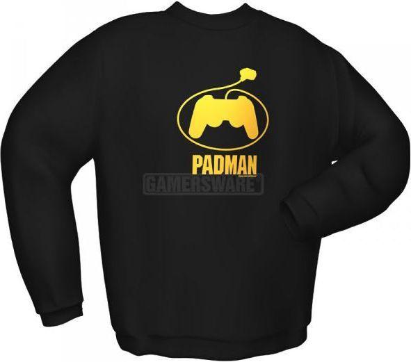GamersWear Bluza PADMAN czarna (L) ( 5122-L ) 1