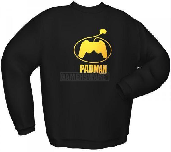 GamersWear Bluza PADMAN czarna (M) ( 5122-M ) 1