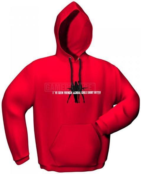 GamersWear Bluza SCHOOLGIRLS czerwona (M) ( 5077-M ) 1