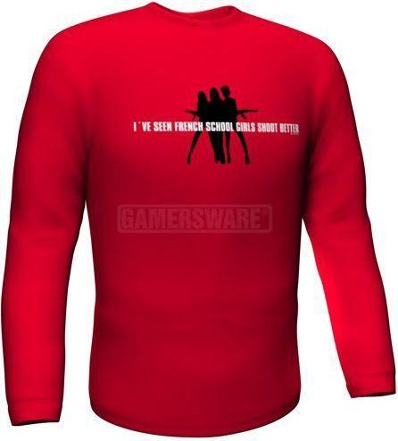 GamersWear Bluza SCHOOLGIRLS Longsleeve czerwona (M) ( 5984-M ) 1