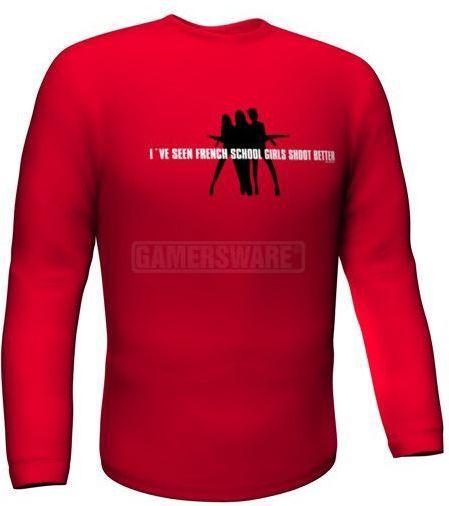 GamersWear Bluza SCHOOLGIRLS Longsleeve czerwona (S) ( 5984-S ) 1