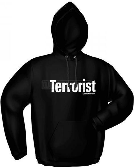 GamersWear TERRORIST czarna (M) ( 5084-M ) 1