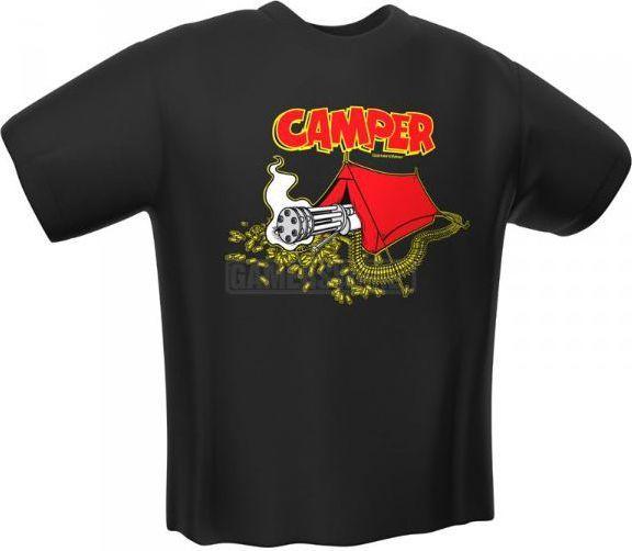 GamersWear CAMPER T-Shirt czarna (M) ( 6057-M ) 1
